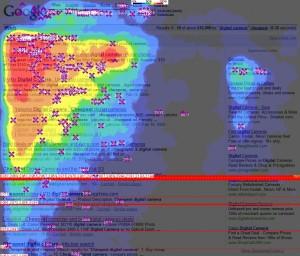 Mapa de calor busquedas seo